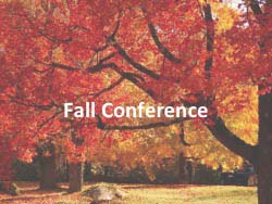 Nov 1, 2017 is the Fall Conference