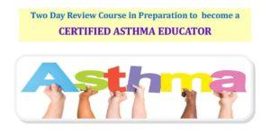 Asthma educator course