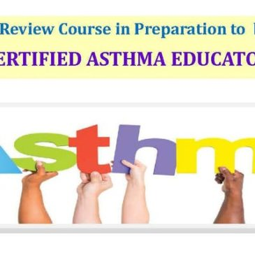 ASSOC. OF ASTHMA EDUCATORS PREP REVIEW COURSE FOR CERTIFIED EDUCATOR EXAM
