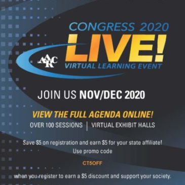 Use This Code to Save $$ on AARC Congress Registration
